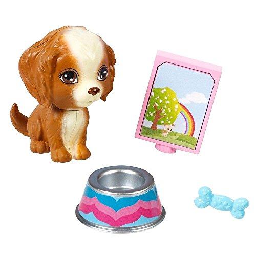 Barbie - Objetos de Decoración Set - Mascota Perro - Perrito