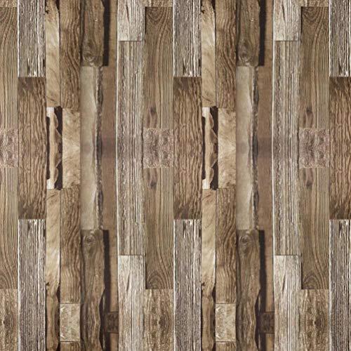 (Tapeten Kontakt Papier die beunruhigtes Vinyl faux Holz Planken selb stklebendes Schalen und Stock wasserdichtes hängendes Papier für Wand-Dekor (0.53 * 5.65m,))