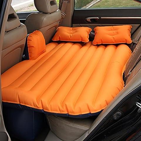 Coche dormitorio cama de aire cojín móvil Viajes inflación asiento posterior más grueso colchón extendido166 con un conjunto completo de