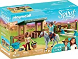 PLAYMOBIL 70119 Spirit-Riding Free Reitplatz mit Lucky & Javier, bunt