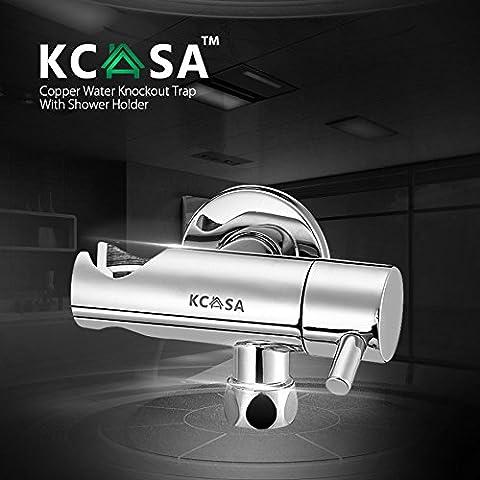 Paleo KCASA™ Control nocaut agua interruptor de trampa de dos vías de desvío del agua de baño válvula de ángulo One
