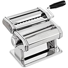 PAGILO máquina para hacer pasta con 7 posiciones para espaguetis, pasta y lasaña | con 2 años de garantía de satisfacción | máquina para pasta, pastamaker