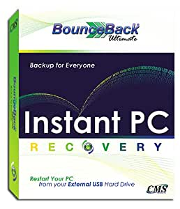 Bounceback Ultimate Software: Automatic Backup and Instant disaster recovery
