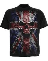 Spiral - Men - UNION WRATH - T-Shirt Black