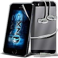 Aventus ( Trasparente ) Samsung Galaxy A5 (2017) Premium Silicone Molle Del Gel Speciale Impugnatura Posteriore Con Alluminio Auricolari Inclusi - Caso Poly Trasparente