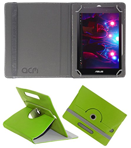 Acm Rotating 360° Leather Flip Case for Asus Fonepad 7 Fe170 Cover Stand Green  available at amazon for Rs.149