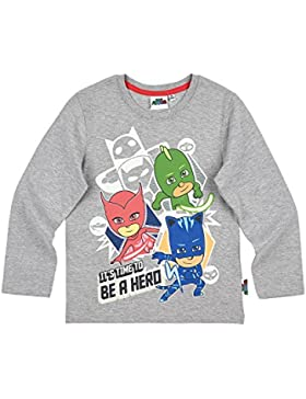 PJ Masks Chicos Camiseta mangas largas - Gris