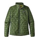 Patagonia M'S Nano Puff Chaqueta, Hombre, Verde (Glades Green), S