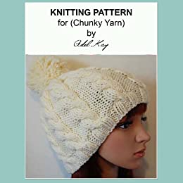 Andrea Chunky Yarn Bobble Beanie Hat Child Teen Adult Knitting Pattern by   Kay 76a4db8a8d7