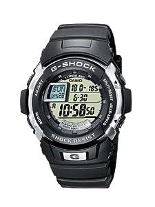 Reloj de caballero CASIO G-Shock G-7700-1ER de cuarzo, correa de resina color negro (con cronómetro, alarma, luz) de Casio