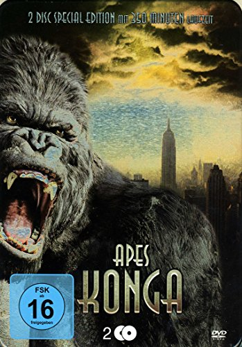 King Kong - ApesKonga Metallbox [2 DVDs]