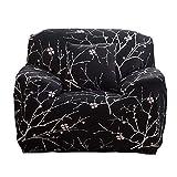 Housse de fauteuil Canapé en Polyester Extensible avec accoudoir 1 place, Revêtement de Canape