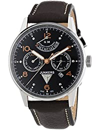 Junkers Herren-Armbanduhr XL G 38 Analog Automatik Leder 69605