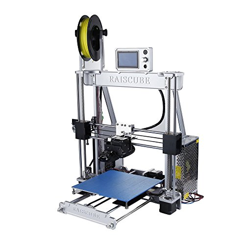 KinshopS Hohe Präzision A8R Aluminiumlegierung Rahmen 3D Drucker Große Druck Größe 210 * 210 * 225mm Single Extruder Eu-stecker (Rahmen-kupplung Großes)