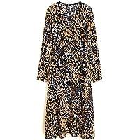 8897f1dffc MANGO Women s Leopard midi Dress 43061060