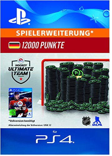 12.000 NHL 18-Punkte-Pack [PS4 Download Code - deutsches Konto] (Card Ea Game Code)