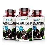 Açai Berry Ultra - 3 Packungen - 180 Kapseln