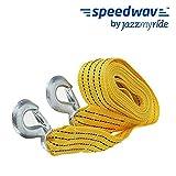 #9: Speedwav 3 Ton Emergency 3 meter Long Tow Cable - Yellow Color for Hyundai Creta