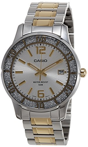 Casio Enticer Analog Silver Dial Women's Watch - LTP-1359SG-7AVDF (A901) image