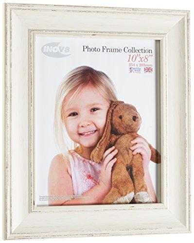Inov8 PFES-LWWH-108 Traditionell Briten Foto und Bilderrahmen, 20 x 25 cm, wasch groß weiß