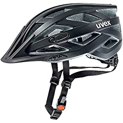 Uvex Ivo CC - Casco de ciclismo unisex, color negro mate