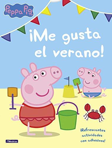 ¡Me gusta el verano! (Peppa Pig. Actividades): Refrescantes actividades con adhesivos por Varios autores