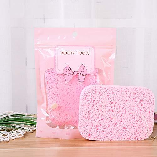 Outil de maquillage écologique Outil nettoyant pour le visage Puff Beauty Cleansing Facial Wet and Dry