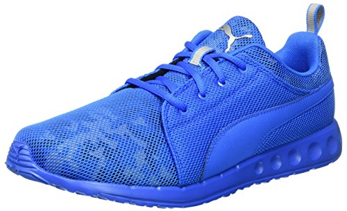 puma-carson-cam-chaussures-de-running-competition-homme-bleu-blau-electric-blue-lemonade-puma-silver