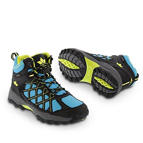 Lico Terrain, Chaussures de randonnée garçon turquoise/noir