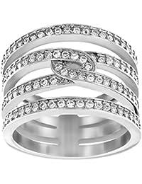 Swarovski Creatividad Ring, rodio