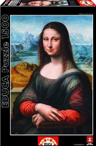 Puzzles Educa - Gioconda, Museo del Prado, puzzle de 1500 piezas (16011)