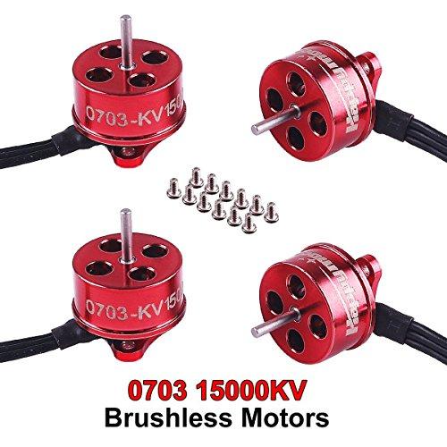 4 stücke 0703 Bürstenlosen Motoren 15000KV 1 S Version SE0703 Mikromotor für Tiny 65GT Beta65 Pro Micro Brushless Whoop Rahmen