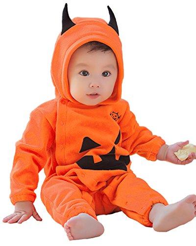 Kidsform Baby Mädchen Langarm Cosplay Halloween Karneval Bodysuit Jumpsuit Strampler Style 5 85/12-18Monate