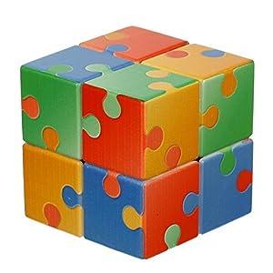 V-Cube VCB-2-JIGSAW - Puzle con Forma de Cubo de Velocidad giratoria