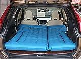 ZCJB Car Shock Bed Car Colchón Inflable SUV Car Bed Car Travel Air Bed Flocado Honda CRV Cama De Viaje Dedicada (Color : Azul)