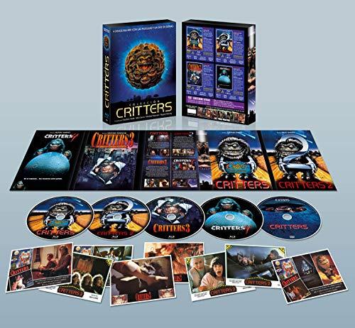 Colección Critters BD 1-2-3-4 Digipack Coleccionista con 8 Postales + DVD de Extras y Portada Lenticular [Blu-ray]