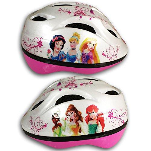 Disney Kinderfahrradhelm mit Motivauswahl - Fahrradhelm - Rollschuhhelm - Inlinerhelm - Skateboardhelm (Princess)
