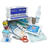 AIESI kit di reintegro ALLEGATO 2 pacco medicazione per cassetta pronto soccorso aziende meno 3 dipendenti # Conforme DM388/DL81 # Made in Italy