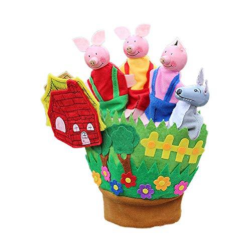 Guantes cinco dedos Nuevo juguete educación