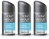 3X DOVE MEN + CARE CLEAN COMFORT 48H ANTI-PERSPIRANT DEODORANT SPRAY 35ML