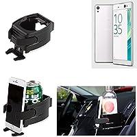 Titular Smartphone para el coche para Sony Xperia XA Ultra. Soporte coche Vaso Botella Lata cop asostenedor de taza bebida caja ventilación - K-S-Trade(TM)