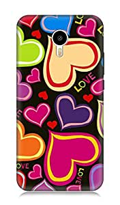 Meizu M2 Note 3Dimensional High Quality Designer Back Cover by 7C