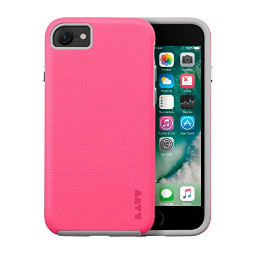 LAUT - SHIELD case für iPhone 8 & iPhone 7 (White) Pink