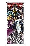 CoolChange Poster para enrollar /Kakemono de Overlord Hecho de paño, 100x40cm
