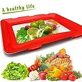 YQHbe Aufschnitt Boxen, Hochwertige Aufschnitt Stapelbar, Aufschnitt-Box Kreatives Tablett FüR Lebensmittel-Konservierung,Wurst Und KäSe Aufbewahrung,Wiederverwendet Wurstbox KüHlschrank