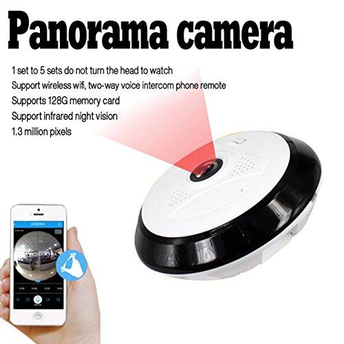 IP Cam Wifi Motorizzata - Telecamere Di Sorveglianza Da Esterno Wifi Drone Camera Wifi IP Camera Hd Wireless - DC10I Visione Notturna A Infrarossi - Per Android IOS Smartphone