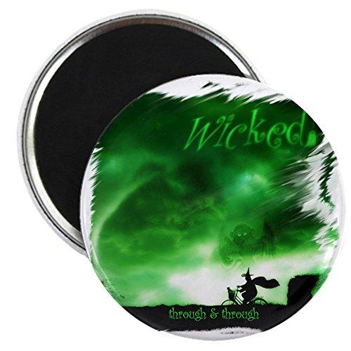 CafePress – Wicked – Through – 5,7 cm -