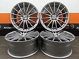 4 Alufelgen PLATIN P 18 Zoll passend für Audi A3 S3 8 8V AS8K B8 A6 S6 4F A8 TTS TT 8J 8S NEU
