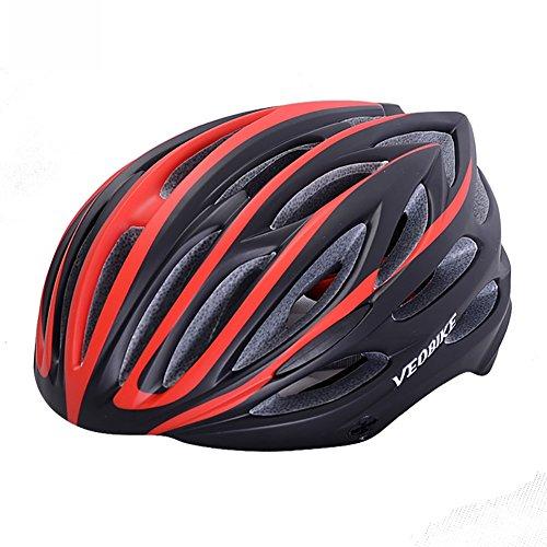mininess Helmet Ultraleicht Integral Geformten Fahrradhelm Für MTB Rennrad Sicher Kappe Männer Frauen 21 Air Vents Fahrradhelm