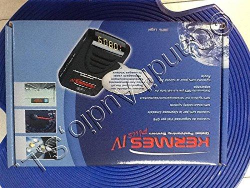 Avisador de radar GPS KERMES Plus IV con batería